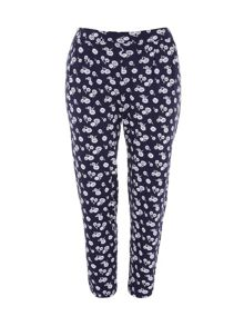Plus Size Daisy Jersey Trousers