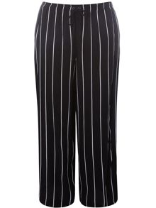 Evans Plus Size Stripe Print Trousers