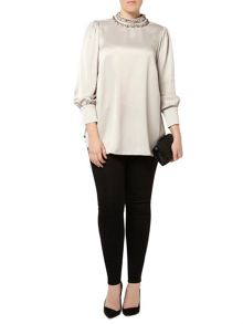 Evans Plus Size Giles Deacon Blouse