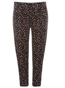 Evans Plus Size Triangle Print Trousers