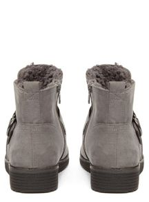 Evans Extra Wide Fit Lined Boots
