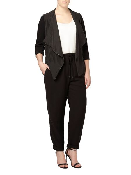 Evans Plus Size Live Unlimited Drawstring Trousers