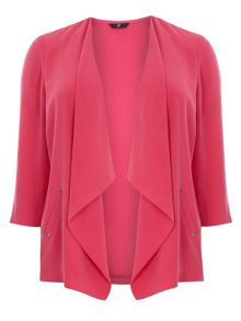 Pink Stud Trim Jacket