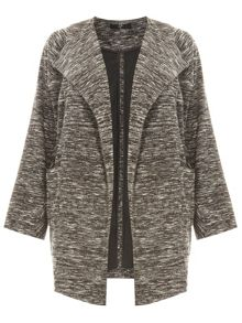Evans Grey Waterfall Jacket