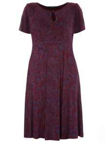 Evans Scarlett And Jo Keyhole Dress