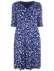 Scarlett & Jo Button Front 40`S Dress