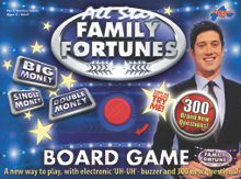Drumond Park Family fortunes board game