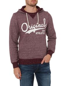 Jack & Jones Logo Draw String Hoodie