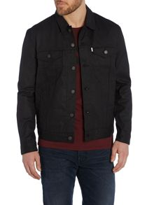 Levi's Waxed canvas trucker jacket