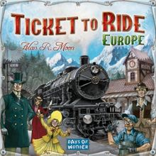 Esdevium Ticket to Ride Europe Board Game
