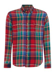 Custom Fit Tartan Flannel Shirt