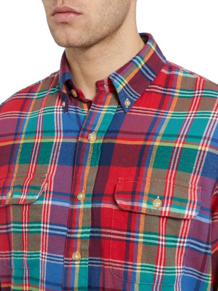 Polo Ralph Lauren Custom Fit Tartan Flannel Shirt