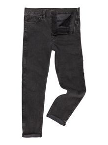 Levi's Line 8 522 charcoal washed out slim taper jean