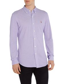 Custom Fit Oxford Long Sleeve Shirt
