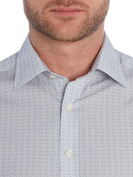 Simon Carter Paisley Dot Shirt