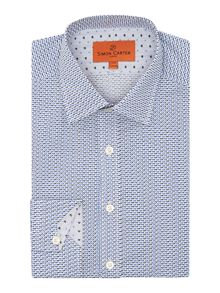 Simon Carter Dog Print Shirt