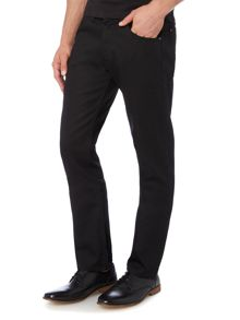 Wrangler Greensboro black tipped straight leg jean