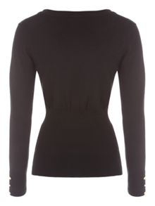 Deep Rib Scoop Jumper