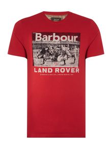 Barbour Land Rover Rugby Rugger Tee