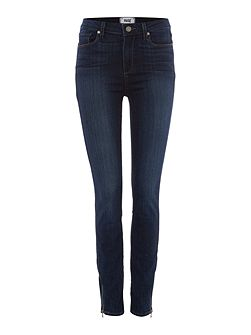 Paige Hoxton skinny ankle zip jean in clark
