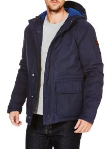 Wrangler 2 pocket hooded parka jacket
