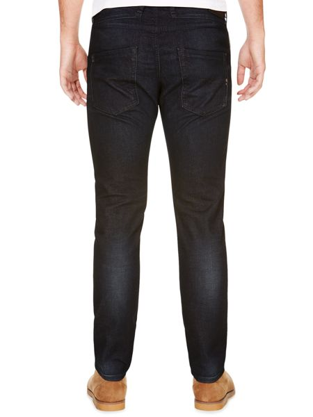 Diesel Belther 842Q Tapered Fit Stretch Jeans