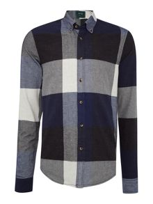 Scotch & Soda Longsleeve shirt in big BB check