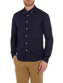 Scotch & Soda Longsleeve oxford weave shirt