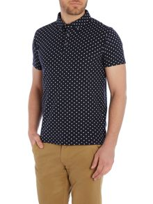 All-over printed polo