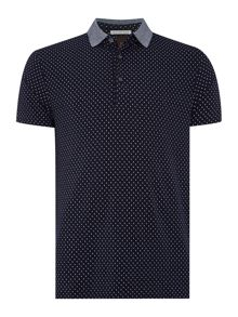 Polo in cotton/lycra quality