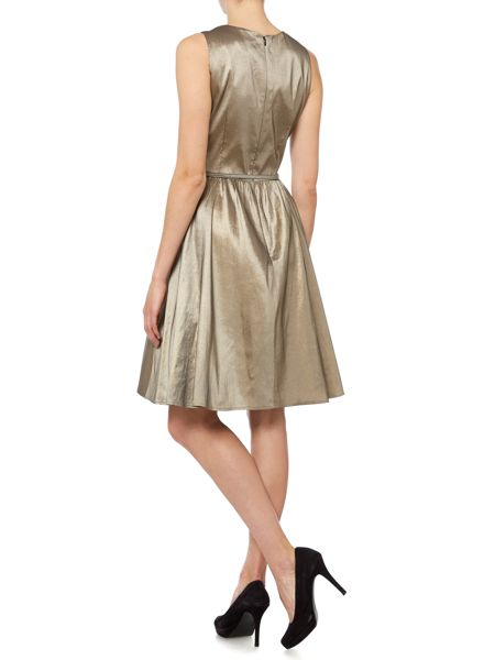 Dickins & Jones Embellished neckline dress