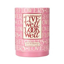 Love & Flowers Candle
