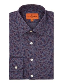 Mini Floral Pattern Shirt