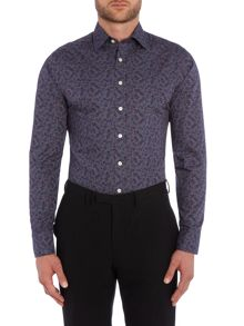 Simon Carter Mini Floral Pattern Shirt