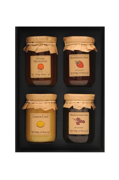 Edinburgh Preserves Traditional British Preserves  - Jam x 4