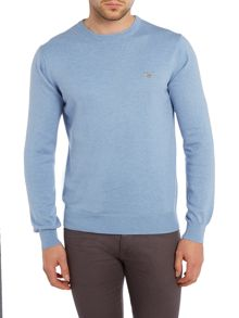 Gant Crew Neck Cotton Wool Jumper