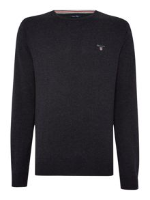 Crew Neck Cotton Wool Jumper