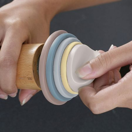 Joseph Joseph Adjustable rolling pin pastel