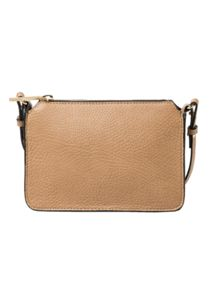 Zipped pebbled bag