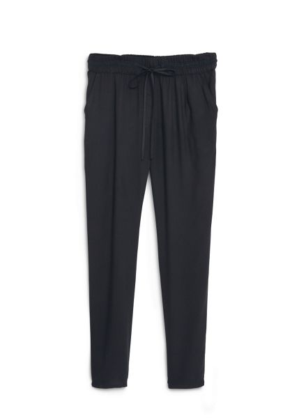 Mango Textured baggy trousers