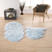 Origin Rugs Sheepskin duck egg double