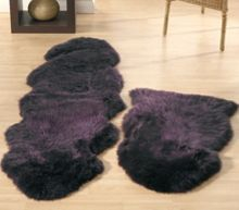 Origin Rugs Sheepskin plum double