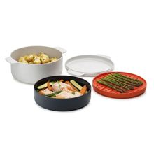 Joseph Joseph M-Cuisine 4-Piece Stackable Microwave Cooking Set