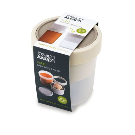 Joseph Joseph GoEat Compact 2-in-1 Soup Pot Grey