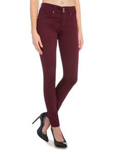 Salsa Secret push in skinny jean in merlot