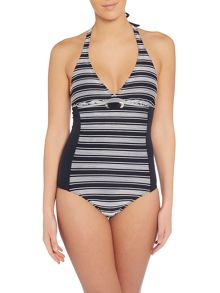 Dickins & Jones Nautical Stripe Swimsuit