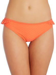 Dickins & Jones Waffle Texture Frill Bikini Brief