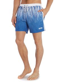 Anabas all over print swimming shorts
