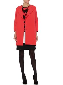 Ellen Tracy Coat with binding detail