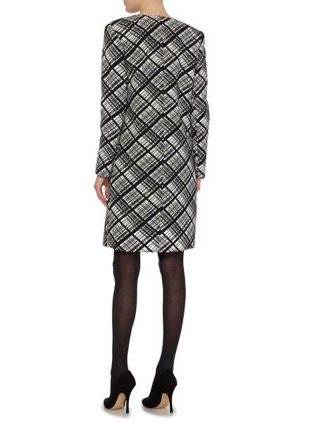 Ellen Tracy Double crepe coat
